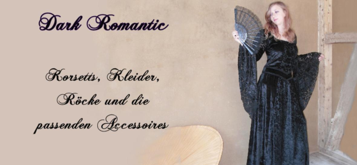 Individuelle Mode mit Stil street-wear Abendmode Dark romantic, Fantasy und Schwarze Mode: Korsetts, Kleider, Accessoires